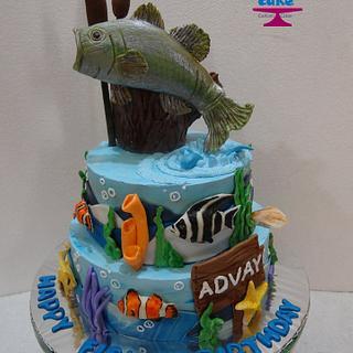 Fish Themed Cake