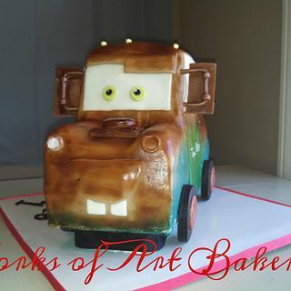 3d Mater cake  - Cake by Kristen Davis