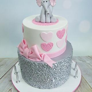 A 21st Elly Cake