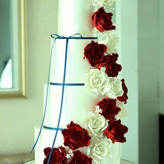 """""""Cascade""""- Wedding Cake"""