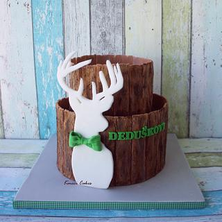 Deer - Cake by Kmeci Cakes