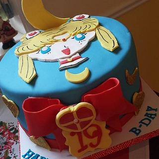 Sailor Moon - Cake by Vilma