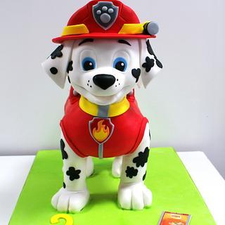 Cake 3D Marshall Paw Patrol
