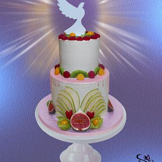 Cake for the Sacrament of Confirmation