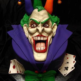 Joker cake! - Cake by Antonella Di Maria