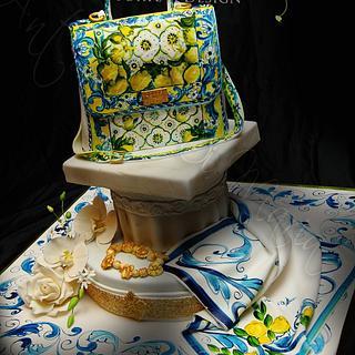 D&G Tiles Cake Sicily