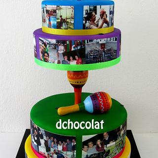 40 & fabulous birthday cake - Cake by Dchocolat