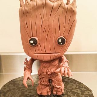 I am  Chibi Groot