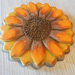 Sunflower Cookies