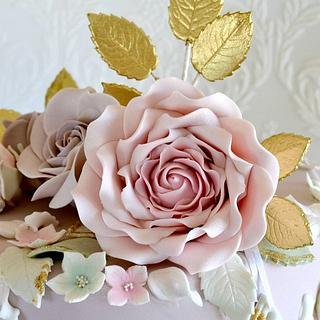 Summer Petals - Cake by Sugar Cakes