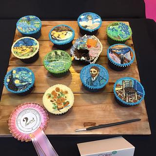 Impressionist Art Cupcakes - CI'17
