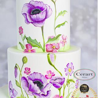 Summer bright cake