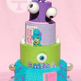 Monsters Inc. - Cake by Lesley Wright