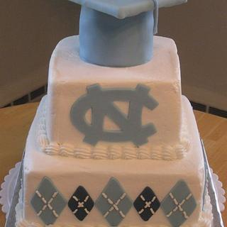 University of North Carolina Graduation Cake