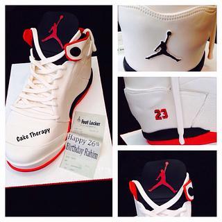 Jordans sneaker  - Cake by Cake Therapy