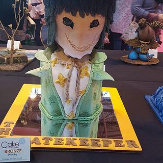 The Gatekeeper - Cake by SwissMiss Cakes & Bakes