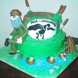 Duck Commander  - Cake by Cinnemin Gurl
