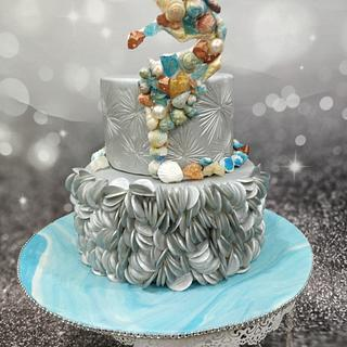 Caker buddies collaboration cakesBliss by the ocean