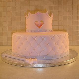 Crown cake for a princess