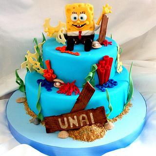Sponge Bob Cake to Unai...
