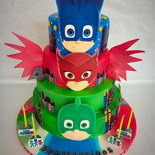 PJmasks Cake