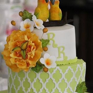 """Soulmates"" A 60th Anniversary Cake"