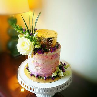 Anniversary cake - Cake by Martha Roz Designs