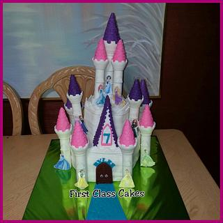 Disney Princess Castle Cake - Cake by First Class Cakes
