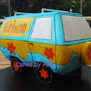Scooby Doo Mystery Machine - 5th Birthday - Cake by Cakes by Ade