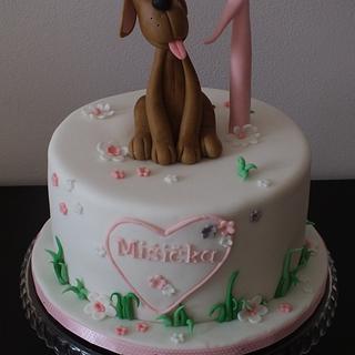 cake for a little girl - Cake by Janeta Kullová
