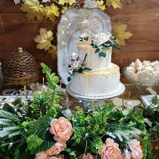 Golden Wedding Paradise