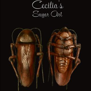 Cockroaches - Cake by Cecilia