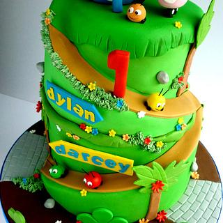 Jungle Junction cake - Cake by Liana @ Star Bakery