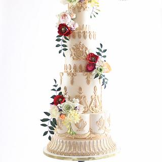 {Inspired By} Royal Wedding Cake