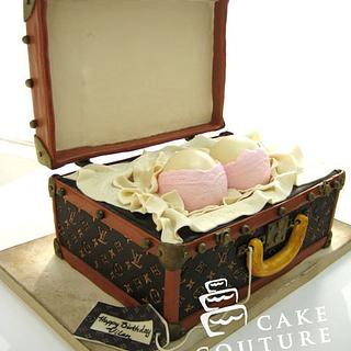 Suitcase with surprise..
