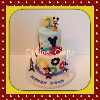 Mickey Mouse Clubhouse Faux Cake Topper