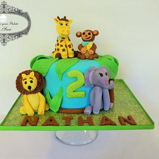 Animal Jungle  - Cake by Delight for your Palate by Suri