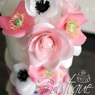 Pink feari cake