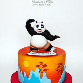 Kung Fu Panda cake - Cake by Alina Vaganova