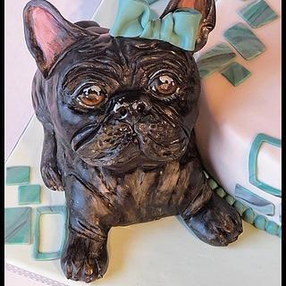 Dog cake - Cake by Kate Plumcake