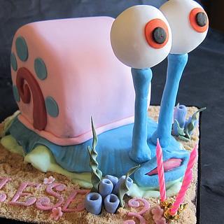 Garry Snail Cake