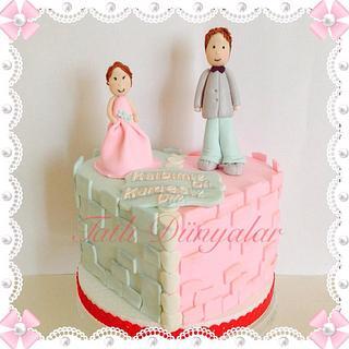 Brother and sisters ;) we have a heart... - Cake by Tatlı Dünyalar by Vildan Özkara