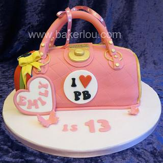 Paul's Boutique Pink Handbag Cake
