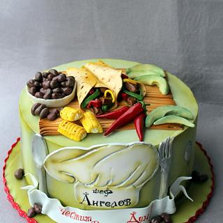 Mexican Food Cake