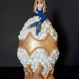 Tesoro de Mar Colaboracion Huevos de Pascua Estilo Faberge