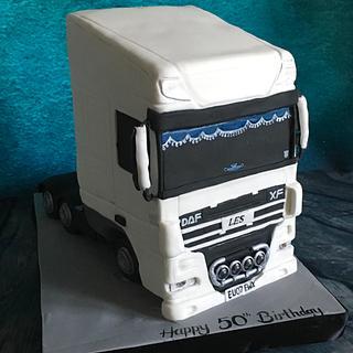 DAF truck cake