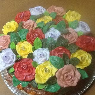 Cesta Floral - Cake by Fabia Bevilaqua