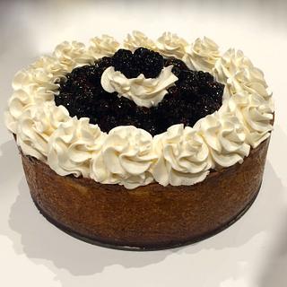 Blackberry Cheesecake - Cake by Sugar Me Cupcakes