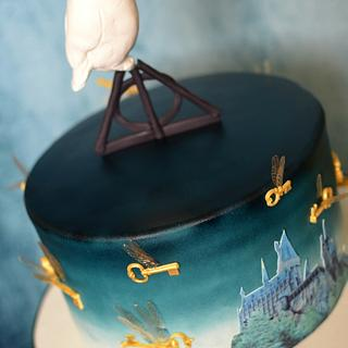 Hogwarts Challenge 50th Birthday Cake 2