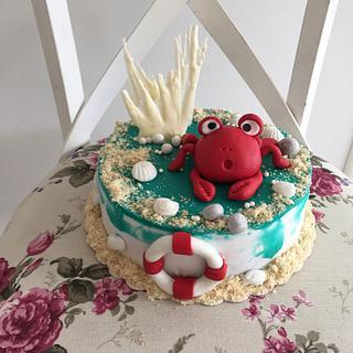 Crab cake - Cake by Doroty